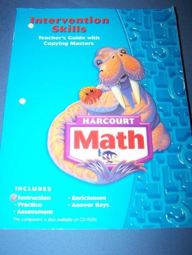 9780153368721: Harcourt School Publishers Math: Intrvtn Skl Tchr Gd W/C-Mstrs Grade 3 2004
