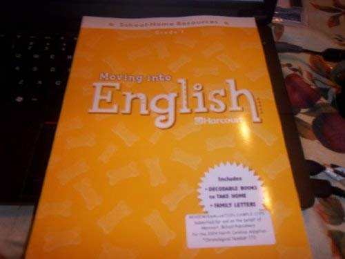 9780153373381: Moving into English: Harcourt School-Home Resources Grade 1