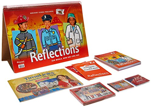 9780153384974: Harcourt School Publishers Reflections California: Se Big Book Reflection 07 Grade K (Ca Reflections 07)
