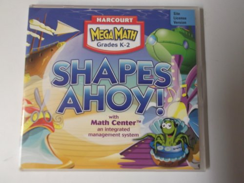 9780153385995: Harcourt School Publishers Eprod/Math Mega Math Shapes Ahoy! Grades K-2