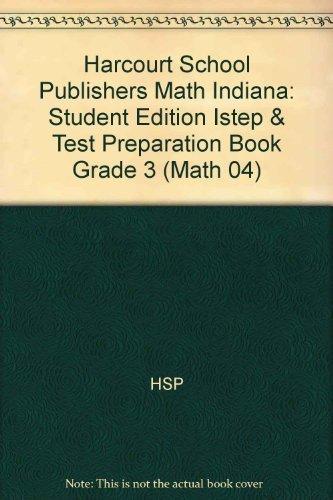 Math, Grade 3 Istep & Test Preparation: Corporate Author-Hsp