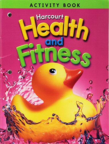 9780153390661: Harcourt Health & Fitness: Activity Book Grade K