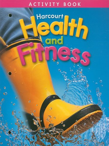 9780153390678: Harcourt Health and Fitness Activity Book, Grade 1