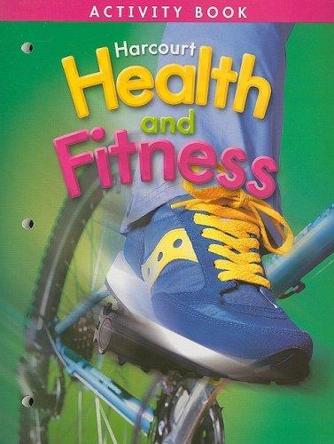 9780153390715: Harcourt Health & Fitness: Activity Book Grade 4