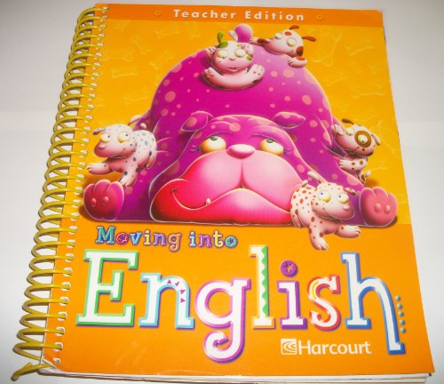 9780153397257: National teacher's edition grade 1 Moving Into English  05