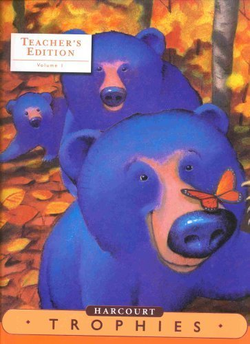 9780153397325: Harcourt Trophies, Vol. 1, Grade K, Kindergarten, Teacher's Edition
