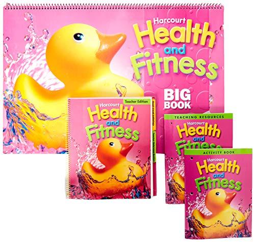 9780153402456: Harcourt Health & Fitness: Kindergarten Program