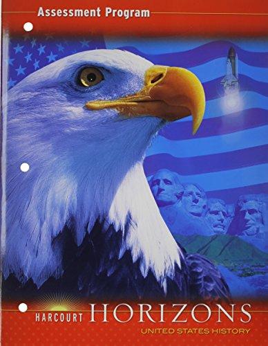 9780153402883: Assessment Program, Horizons United States History (Harcourt Horizons)