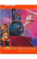 9780153402944: Harcourt Horizons: Activity Book Grade 3 People and Communities