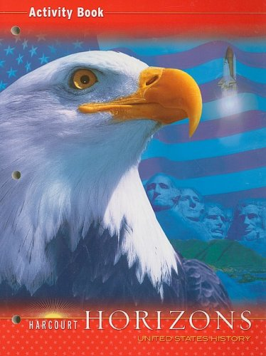 9780153402968: Harcourt Horizons: Activity Book Grade 5 United States History