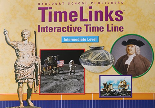 9780153403958: Harcourt School Publishers Reflections: California/National Intermed Timeline Social Studies Grade 3-6
