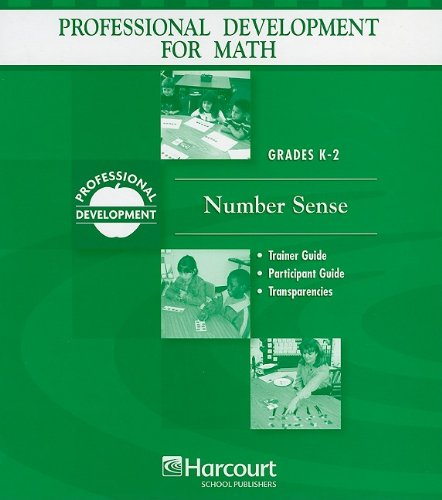 9780153405747: Professional Development for Math, Grades K-2: Number Sense (Math Prof Dev)