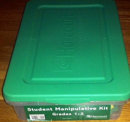 Harcourt School Publishers Math: Student Manipulative Kit: HARCOURT SCHOOL PUBLISHERS