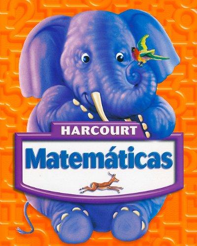 9780153411021 - HARCOURT SCHOOL PUBLISHERS: Harcourt Matematicas: Libros del estudiante Grade K 2005 (Spanish Edition) - Libro