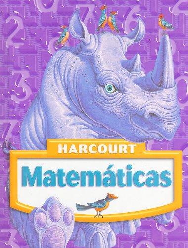 9780153411069: Harcourt Matematicas, Grade 4 (Spanish Edition)