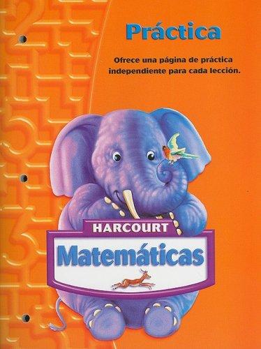 9780153411298: SPA-HARCOURT MATEMATICAS-GRD K (Matematicas 05)