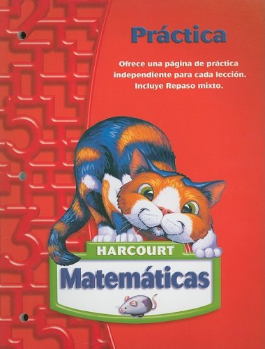 9780153411311: Harcourt Matematicas: Práctica Grade 2 (Spanish Edition)
