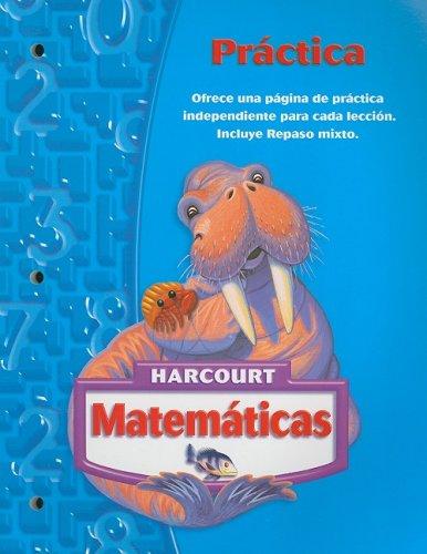 Harcourt Matematicas Practica, Grado 3 (Matematicas 05) (Spanish Edition): Corporate Author-Hsp