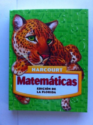 9780153411915: Harcourt School Publishers Matematicas Florida: Student Edition Grade 5 2005 (Spanish Edition)