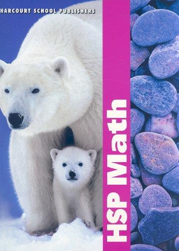 Harcourt School Publishers Math: Student Edition Grade 1 2009: HARCOURT SCHOOL PUBLISHERS