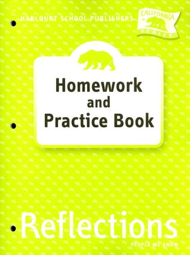 9780153414688: Harcourt School Publishers Reflections: Homework & Practice Book Reflections 07 Grade 2