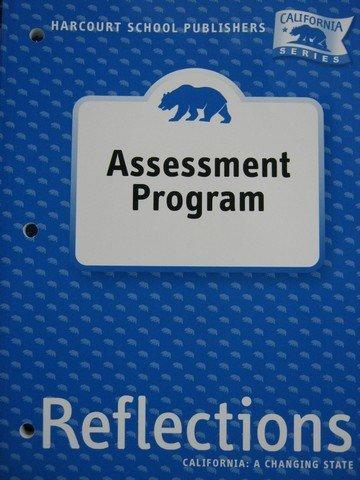 9780153414930: Harcourt School Publishers Reflections California: Asmnt Prog 'Lifornia' Rflc 07