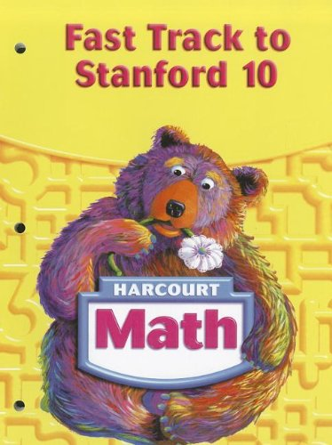 9780153420238: Harcourt Math Fast Track to Stanford 10, Grade 1