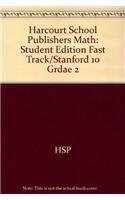 9780153420252: Student Edition Fast Track/Stanford 10 Grade 2