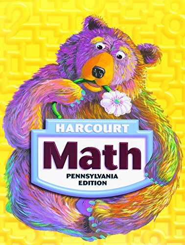 Math, Grade 1: Harcourt School Publishers Math