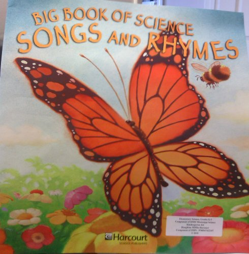 9780153432972: Houghton Mifflin Science: Big Book of Songs and Rhymes Grade K (Hm Science 2006)