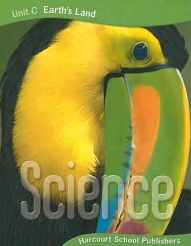 9780153435812: Harcourt Science: Unit Big Books Grade 3 Unit C: Earth's Land 2006