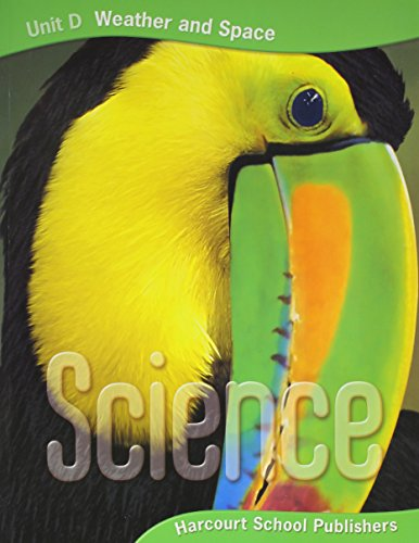 9780153435829: Harcourt Science: Unit Big Books Grade 3 Unit D: Weather and Space 2006