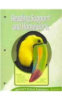 9780153436055: Harcourt Science, Grade 3: Reading Support Homework Book