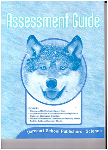 9780153436307: Science, Grade 4: Assessment Guide