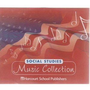 9780153444609: Harcourt Social Studies: Social Studies Music CD Collection Grades K-6/7