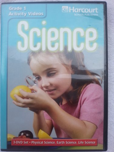 9780153445569: Science Activity Dvd Collection Grade 1 (Harcourt School Publishers Science)