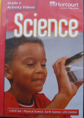 9780153445576: Harcourt Science: Activity Video Collection (package of 3 DVDs) Grade 2