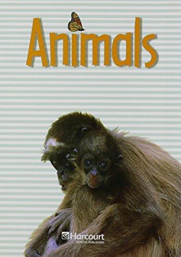 9780153446467: Harcourt Science: Science Readers Book Grade K Animals