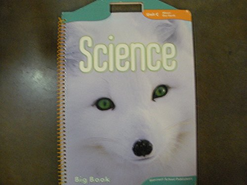 Harcourt Science: Big Book Unit C Grade 1 (Science 06/07/08): HARCOURT SCHOOL PUBLISHERS