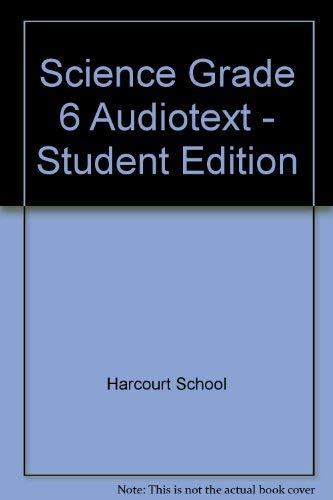 9780153457166: Se Audiotext CD Coll Gr6 Sci 06
