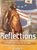 9780153468308: Reflections, Grades 5: United States- Making a New Nation