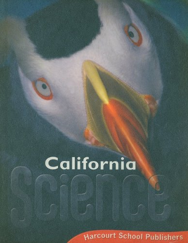 9780153471193: Harcourt School Publishers Science California: Student Edition Grade 3ence 20 2008