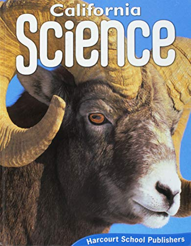 9780153471216: Harcourt School Publishers Science California: Student Edition Grade 5ence 20 2008