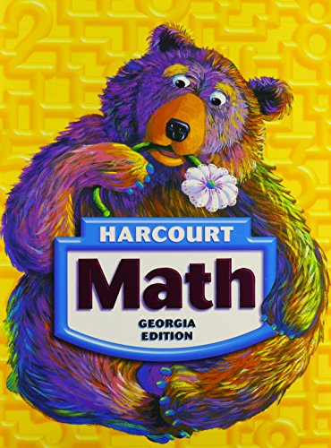 9780153471520: Harcourt School Publishers Math Georgia: Student Edition Grade 1 2008