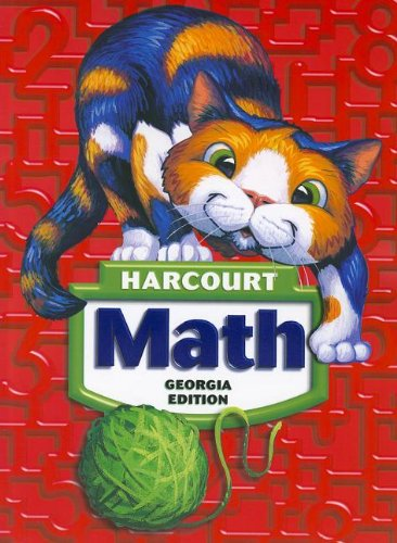 9780153471537: Harcourt School Publishers Math Georgia: Student Edition Grade 2 2008