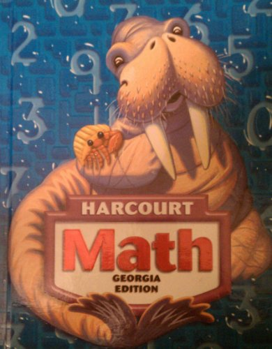 9780153471544: Harcourt Math, Grade 3, Georgia Edition