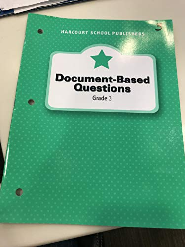 9780153472626: Harcourt Horizons: Document-Based Questions Grade 3 People and Communities