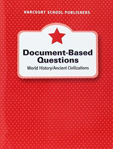 9780153472657: Harcourt Horizons: Document-Based Questions Grade 6 Ancient Civilizations