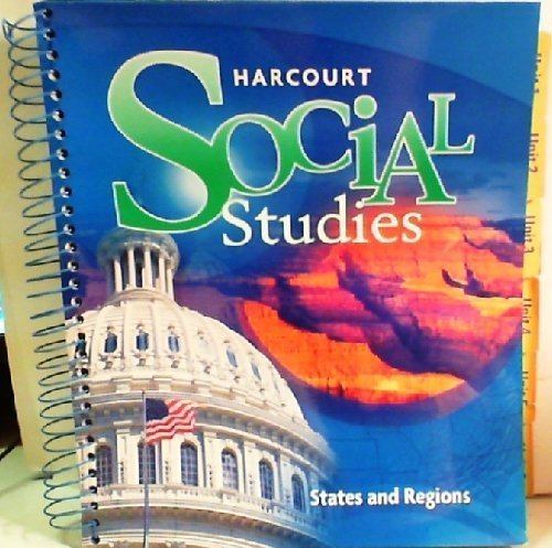 9780153472770: Title: Harcourt Social Studies Teacher Edition Grade 4 St