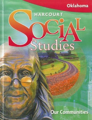 9780153485831: Harcourt Social Studies: Student Edition Our Communities Grade 3 2008